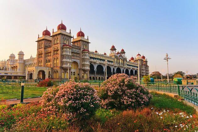 Amba Vilas Palace - india cycling tours