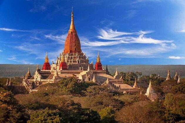 Ananda Pahto - myanmar travel itinerary 2 weeks