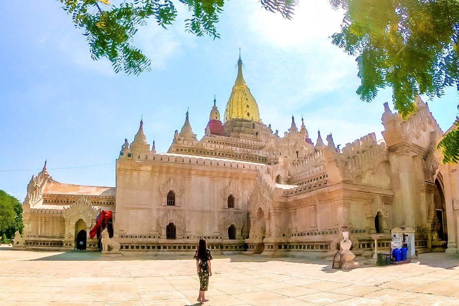 Ananda Temple in bagan myanmar