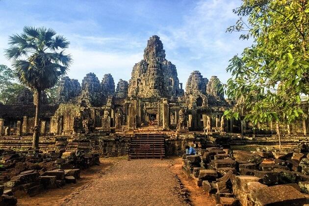Angkor Thom - southeast asia itinerary 2 week