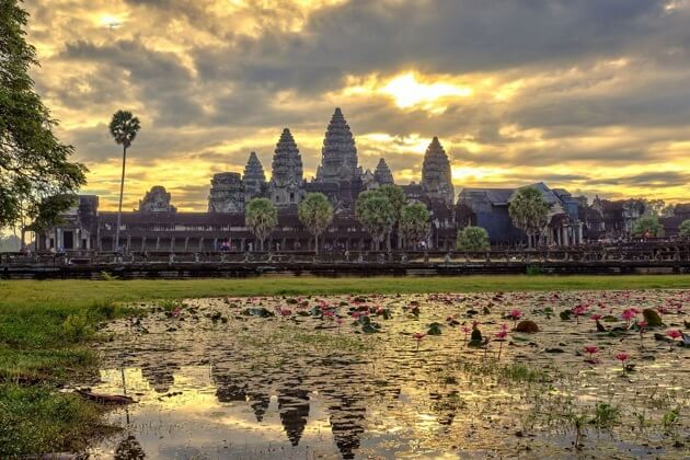 Angkor Wat - indochina vacation