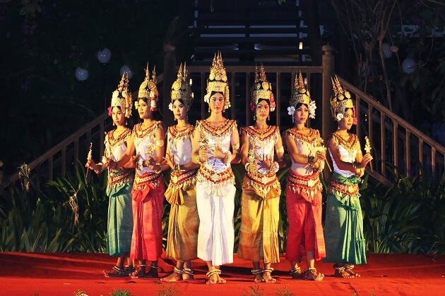 Apsara Dance - cambodia vacation