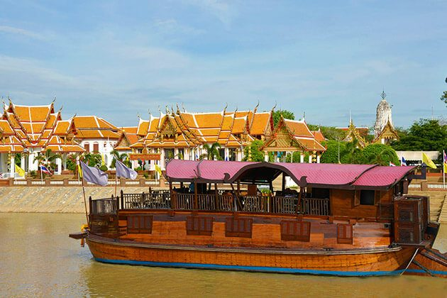 Ayutthaya by Cruise