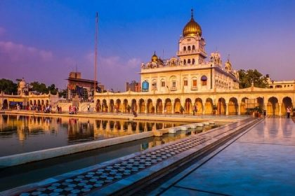 Bangla Sahib Gurudwara - south asia tour packages