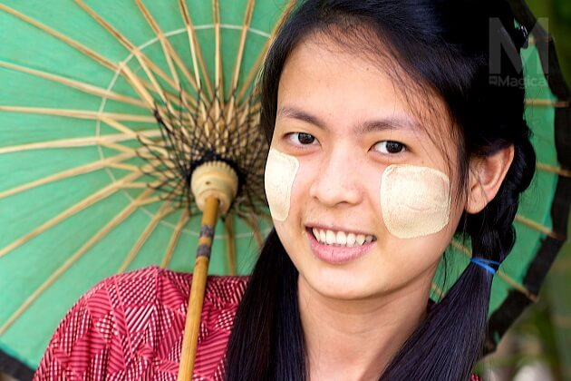 Bark Paste - things you need to know about myanmar