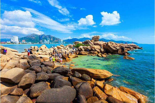 Beach of Nha Trang - best vietnam holiday