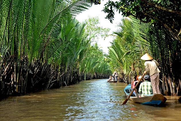 Ben Tre river - vietnam cambodia laos itinerary