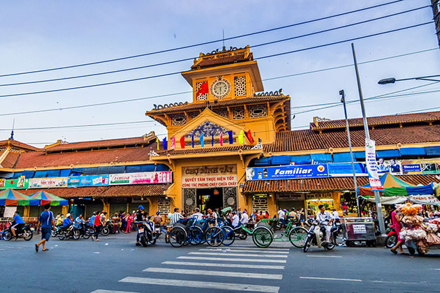 Binh Tay Market - best tours of indochina
