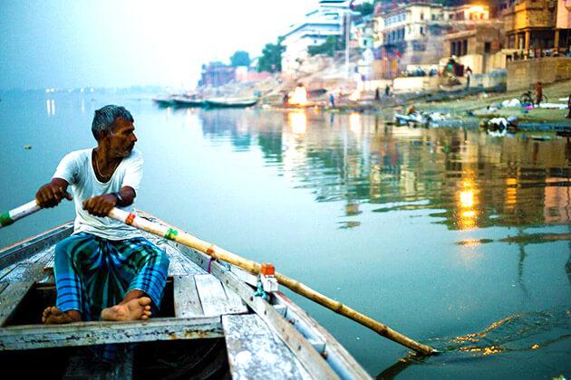Boating on the Ganges