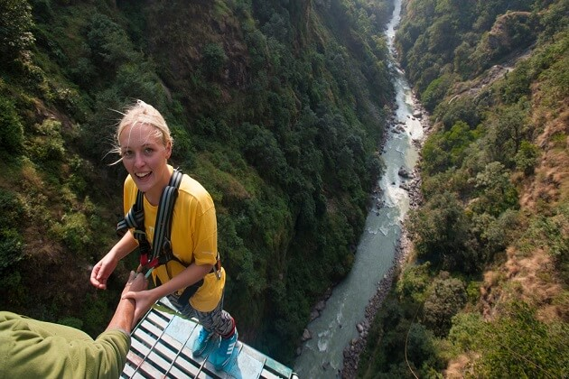 Bungee Jump - nepal vacation packages
