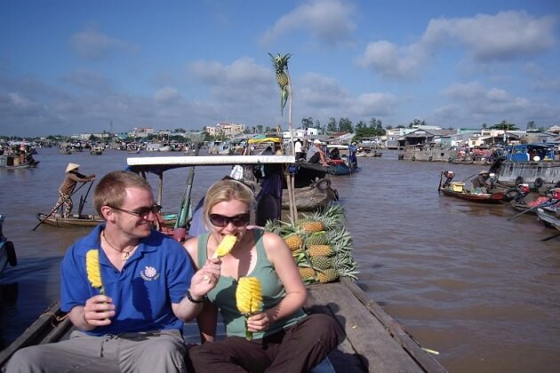 Cai Rang Floating market - best indochina tour packages