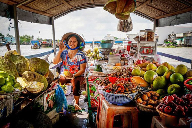 Cai be market - Southeast Asia travel packages
