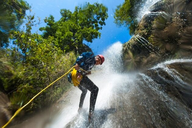 Canyoning - best nepal vacation