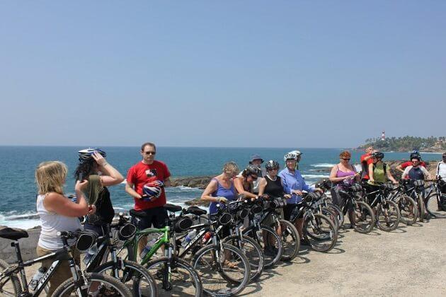 Chavakkad Beach - best cycling tour india