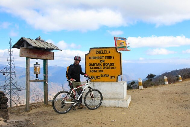 Chele-La Pass - bhutan mountain biking tours