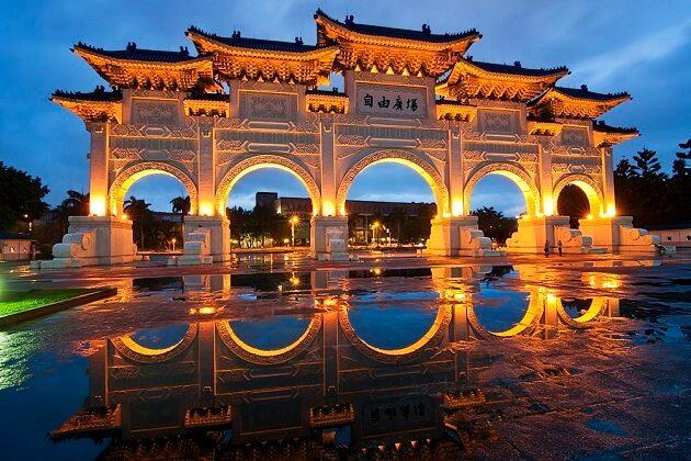 Chiang Kai Shek Memorial Hall - taiwan 2 weeks