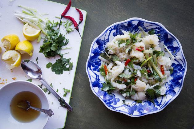 Chicken Feet Salad - best burmese food