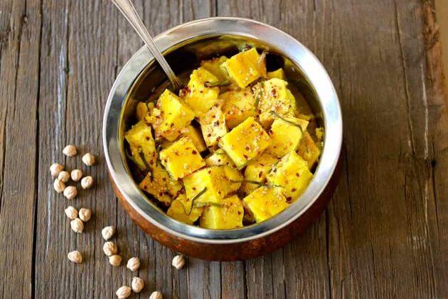 Chickpea Tofu - best myanmar traditional food