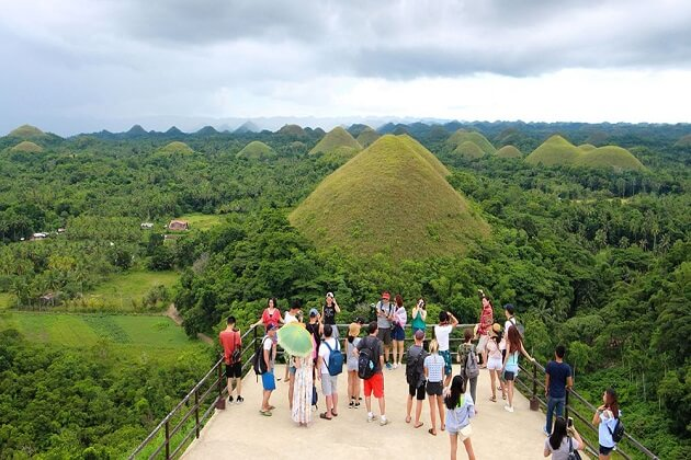 Chocolate hills - Southeast Asia travel