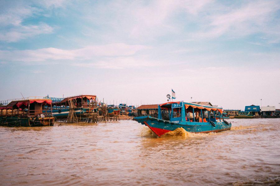 Chong Khneas siem reap cambodia