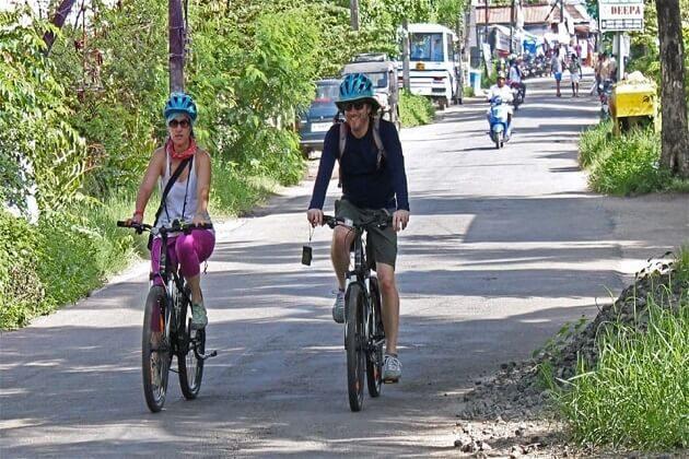 Cochin - india cycling tour