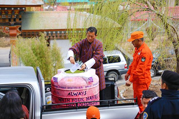 Coronavirus in Bhutan