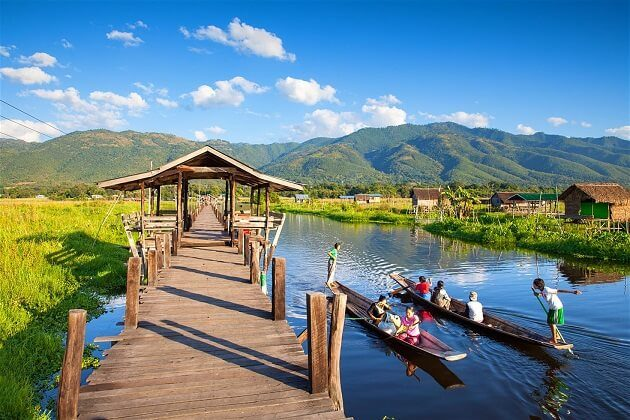 Myanmar vacation - Cycling and Relaxation in Myanmar