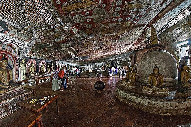 Dambulla Caves - sri lanka adventure travel