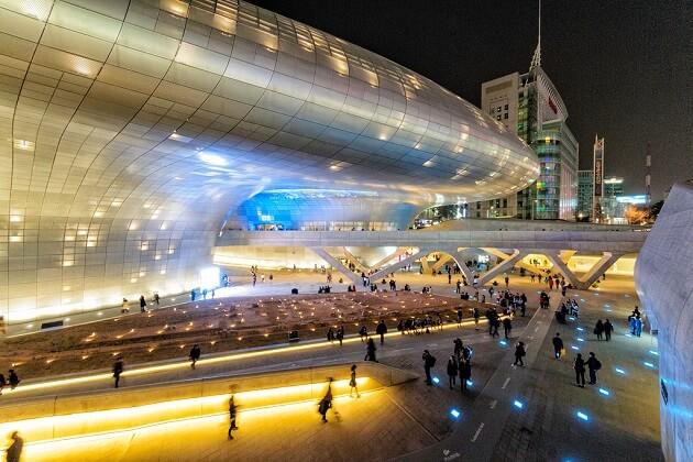 Dongdaemun Design Plaza - south korea best attractions