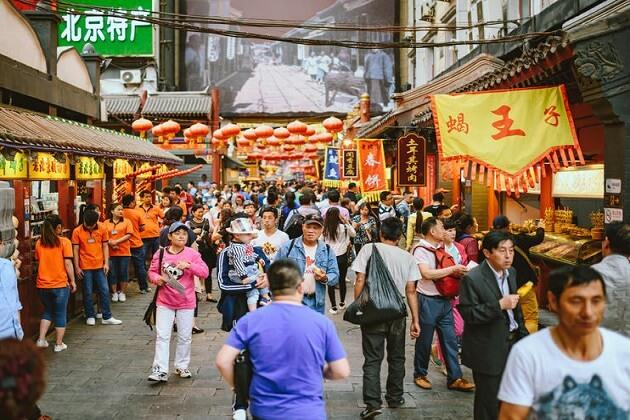 Donghuamen Market - china 2 week itinerary