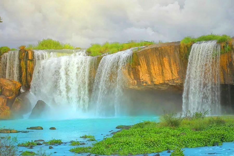 Dray Nur waterfall in vietnam
