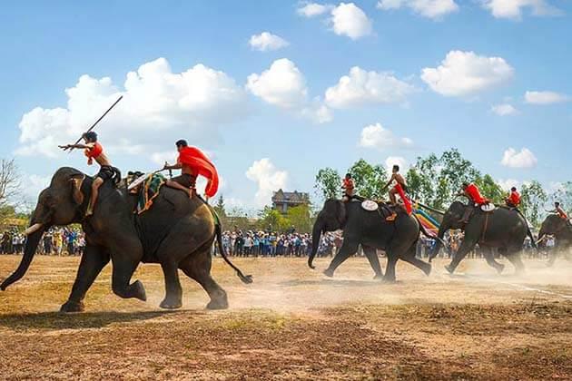 Elephant Racing in Vietnam Central Highland - vietnam vacation