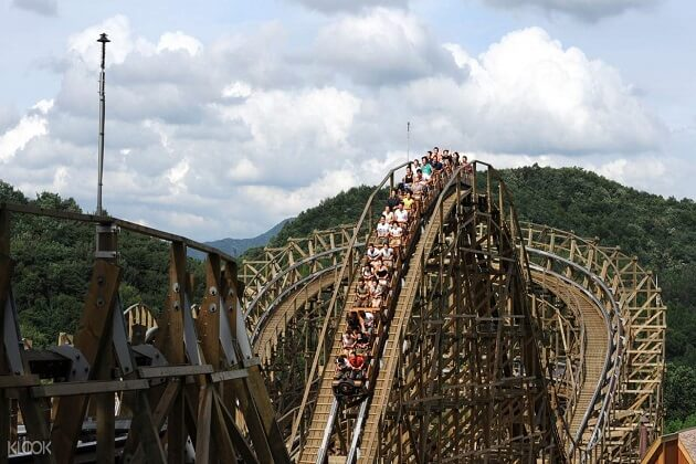 Everland - things to do in korea