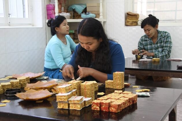 Gold Pounders - 2 week travel itinerary myanmar