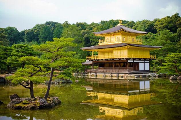 Golden Pavilion - japan attractions