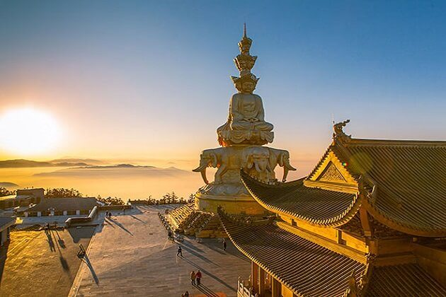 Golden Summit of Mount Emei - 2 week itinerary of china