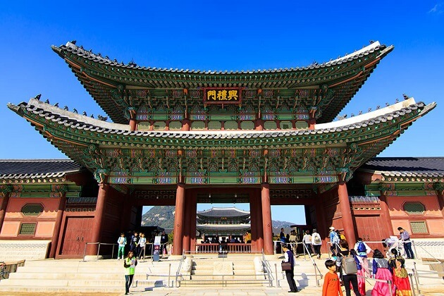 Gyeongbokgung Palace - east asia tours packages