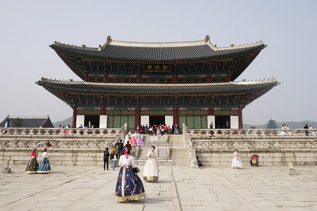 Gyeongbokgung Palace - korea attractions