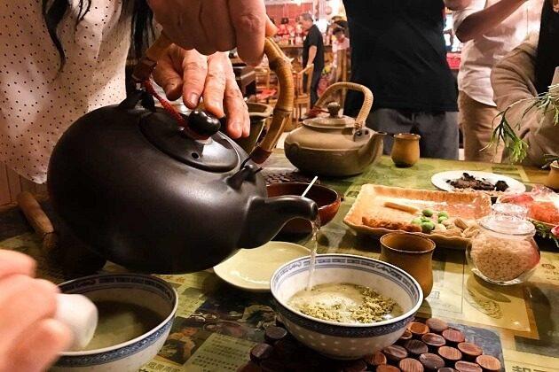 Hakka pound tea - taiwan adventure tours