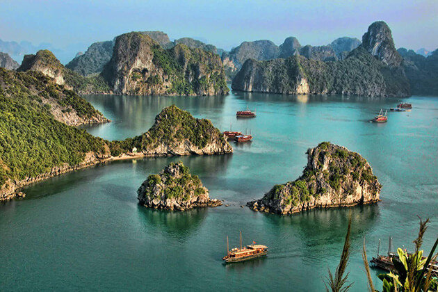 Halong Bay - best indochina route