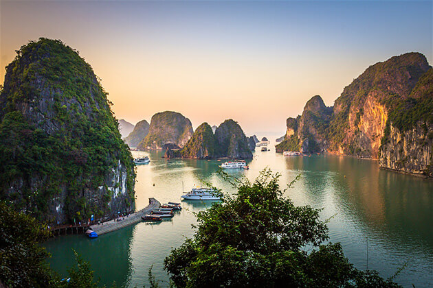 Halong Bay - vietnam cambodia laos tours
