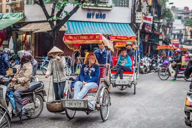 Hanoi old quarter - indochina classic tour 2019