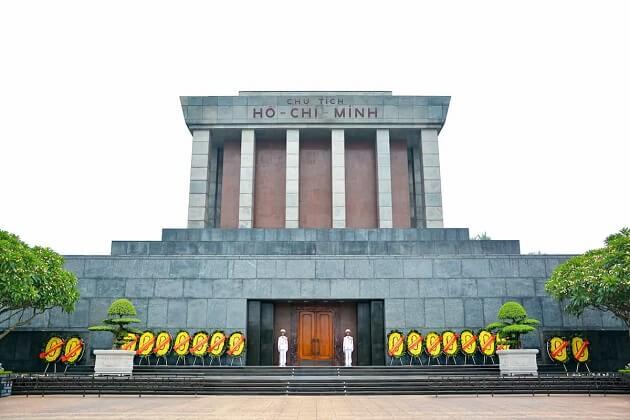 Ho Chi Minh Mausoleum - vietnam tour package