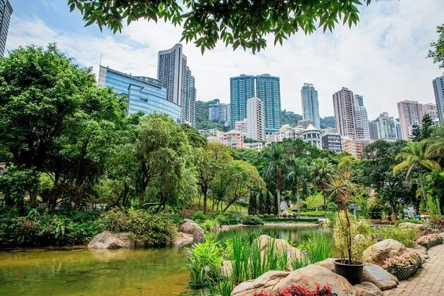 Hong Kong Park - best hong kong tours