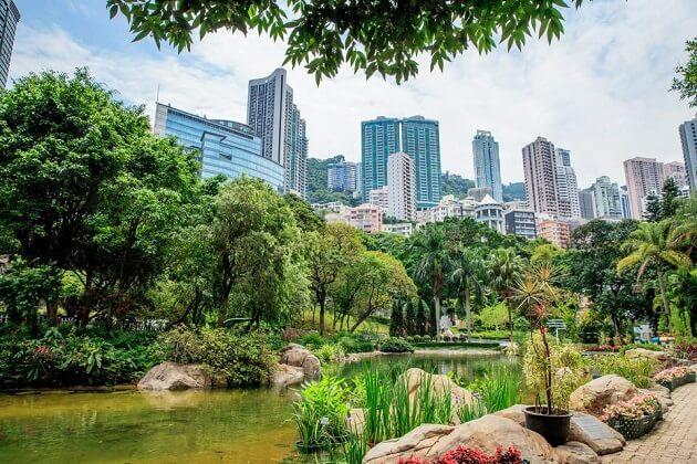 Hong Kong Park - best hong kong tours