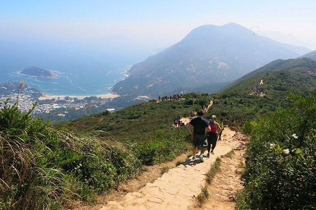 Hong Kong Trail Hiking - hong kong tours