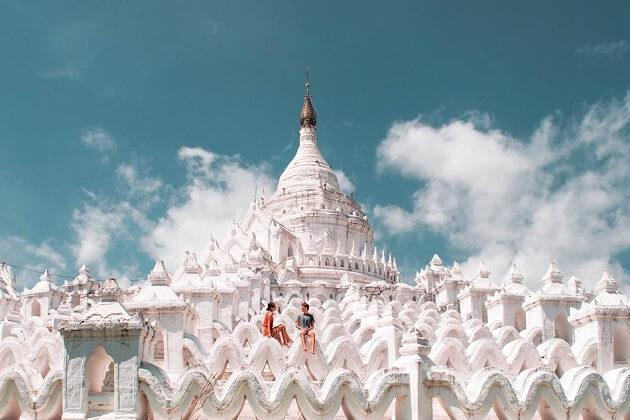 Hsinbyume Pagoda - myanmar vacation