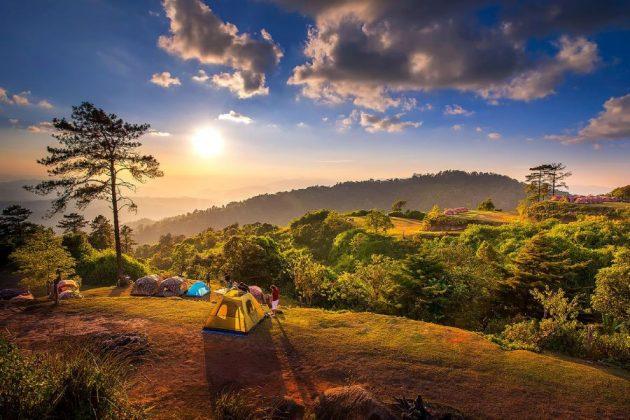 Huai Nam Dang National Park in thailand