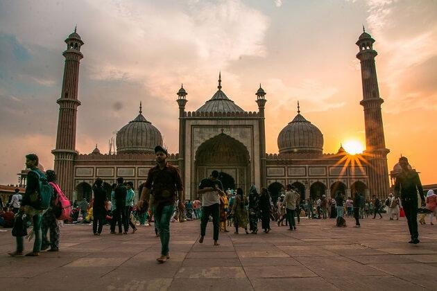 Jama Masjid - classic india tour