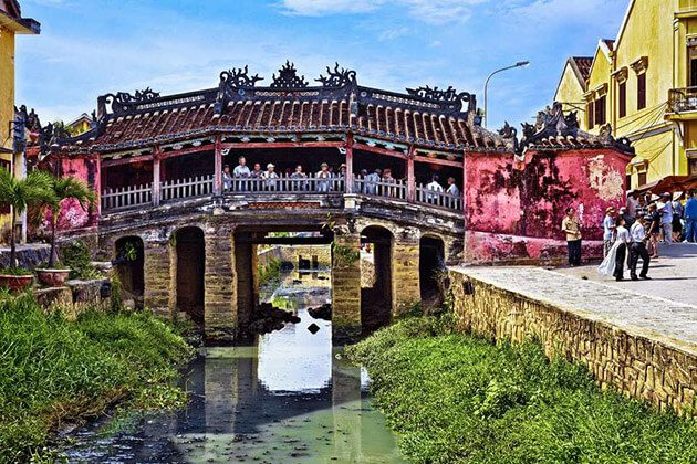 Japanese Covered Bridge - vietnam cambodia and laos holidays